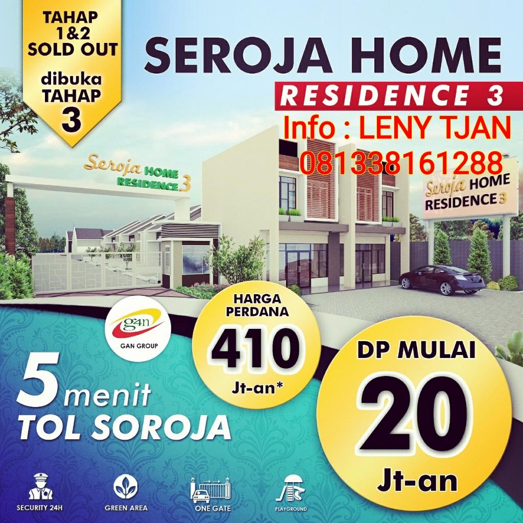 Rumah Murah di Soreang Seroja Home Residence 3