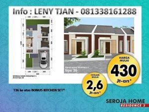 Rumah Murah Seroja Home Residence 3 Soreang bandung