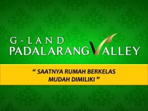G Land Padalarang valley