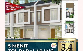 Rumah Dijual di Padalarang Cimahi DP 30 juta